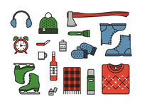 Winter Survival Icons