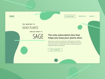 [Daily UI] 003 - Landing Page