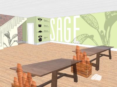 Environmental Graphic Design for Sage