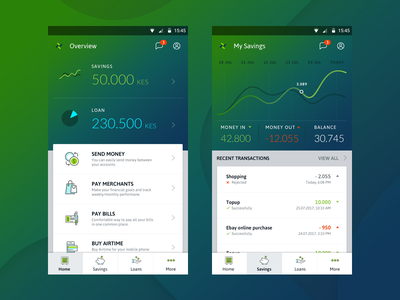 Bayes App deposit topup airtime merchants money payment bills mobile loan savings finance bank