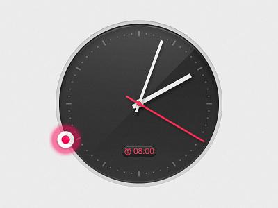 TiMiX Pro v1.2 Quick Alarm clock time iphone ios app ui mobile alarm