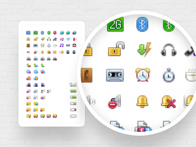Status Icon 16px mobile status icon