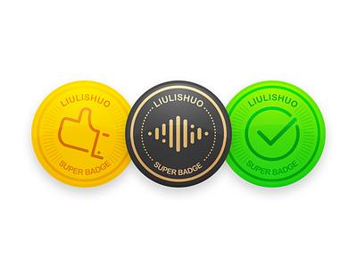 Lingo Badge design badge icon