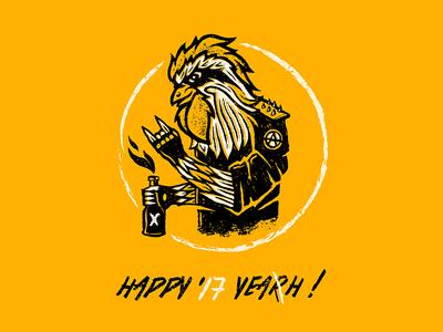 HAPPY NEW YEAH !