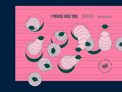 WONA vogue fashion illustration typography freedom love girl woman cosmetics cosmetic