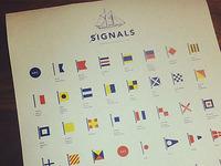 Signals Poster Progress II