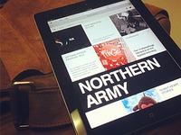 Northern Army Website