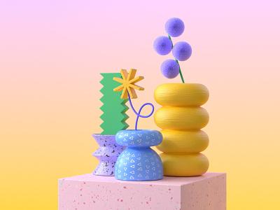 Abstract Bowls maxon maxon3d redshift3d artwork cgi graphicdesign modeling 3dmodeling 3d illustration abstract design cinema4d
