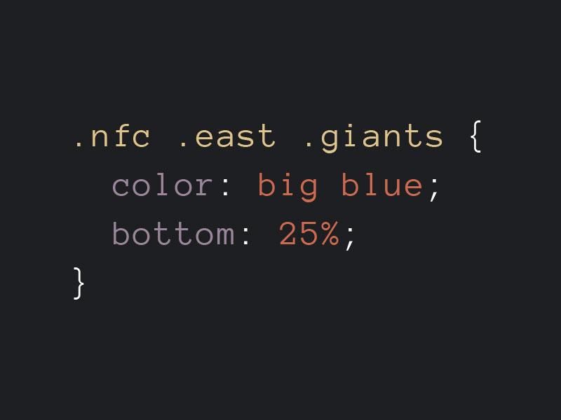 Giants css pun