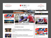 MMQB website redesign