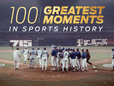 100 Greatest Moments in Sports History video history moments sports greatest