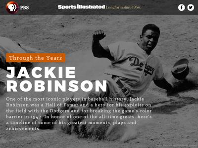 Jackie Robinson timeline baseball jackie robinson