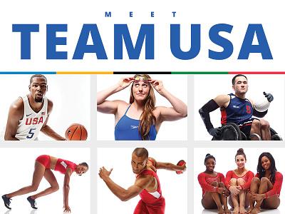 Meet Team USA rio usa team usa olympics