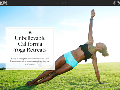 The New Gold Rush - Visit California multimedia longform branded content california