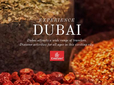 Experience Dubai branded travel dubai