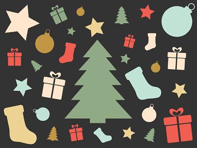 xmas icons xmas christmas icons free download vector