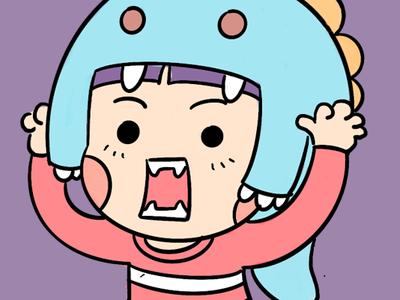 baby q daily emoji design character illustration