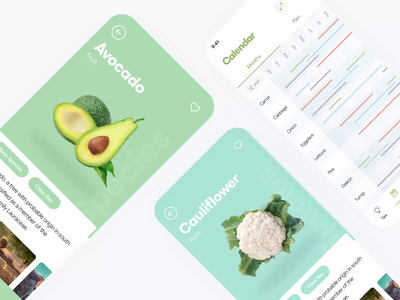 🌵 Slider for Veggie Grower iOS App for Germany gardeners search garden herbs cards potatoes planting tags avacado eggplant garlic notes tips veggie farmers catalog fruits plants slider germany austria