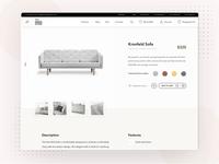 Pro Design House furniture store adaptive website