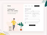 June Homes | Wait List