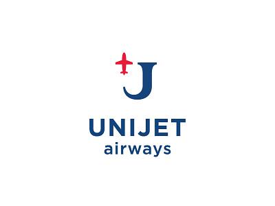 UniJet travel shell sea plane logo jet globe flight airplane airlines air airways