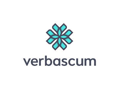 Verbascum logaze logoaze behance baku shop mark flower logo