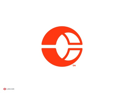 C symbol logaze brand branding logotype logo c mark c letter