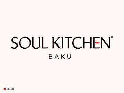 Soul Kitchen lettering typography type logoaze logo logaze baku soul kitchen