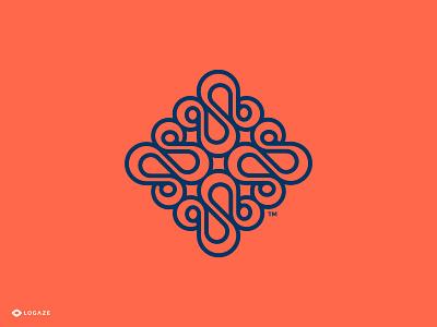 Hena symbol pattern shop logo cloth logaze logoaze