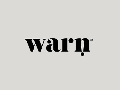 warn negative space icon logoaze lettering wordmark symbol logaze typography logo exclamation