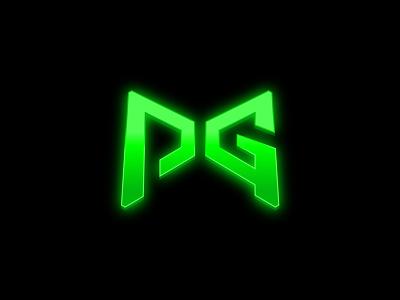 Poggers lettering typography mark symbol branding battleroyale team pg logodesign logo pubg