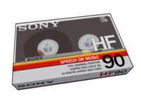 Sony HF 90 Cassette
