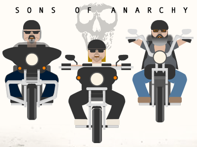 Sons of Anarchy Graphic soa sons of anarchy vector graphic