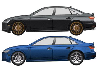 2017 Audi A4 (second edition)