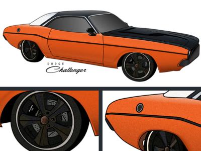 1970s Dodge Challenge