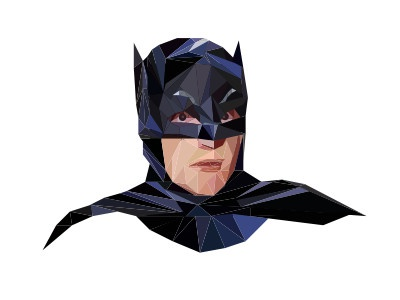 Batman poly low west adam batman