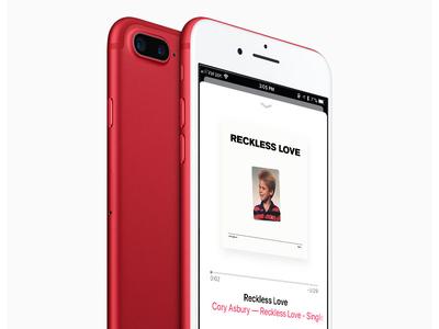 """Reckless Love"" Single Cover design single recklesslove"