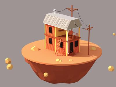 House Model - Telephoto