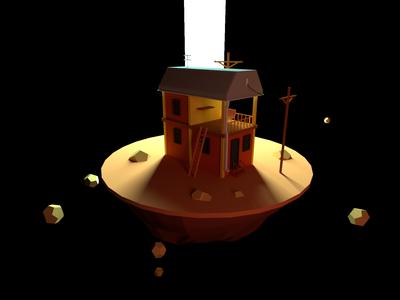 House Model - Wide Angle