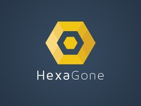HexaGone iOS Game Final Logo