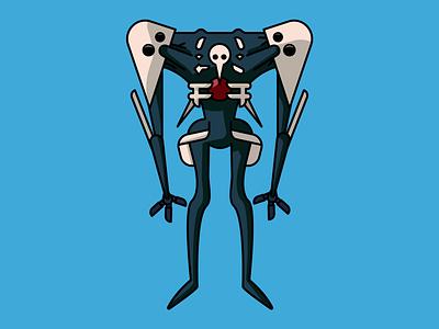 Sachiel (Neon Genensis Evangelion) robot mecha evangelion anime design vector