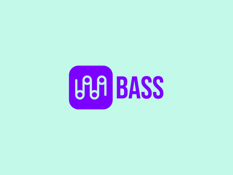 Daily Logo Challenge: Day 9 web app startup music streaming typography icon business vector branding design logo dailylogochallenge