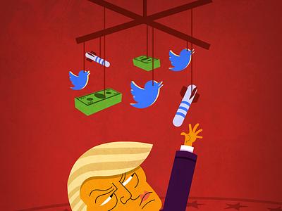 Trump Mobile political potus baby trump