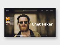 Spotify concept