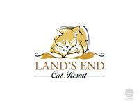 Land's End Cat Resort Logo