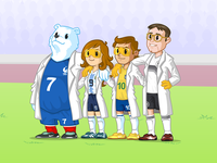 Bioman Soccer Team
