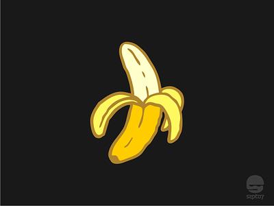 Serengetee Peeled Banana adventure travelling serengetee apparel tshirt design banana doodle hand drawing design illustration branding