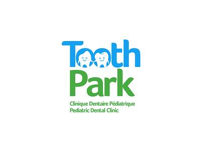 ToothPark logo tooth healthcare dental logo logomark icon mascot character design logo design identity branding