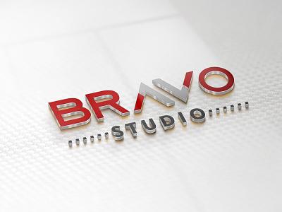 BravoStudio logo proposal rebrand redesign logo
