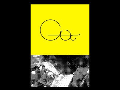 Custom Letter Shapes poster logo poster design design circle lines digital shapes illustration